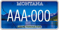 MT license plate #6