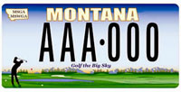 MT license plate #8