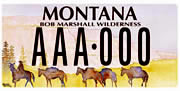 Bob Marshall Foundation plate sample