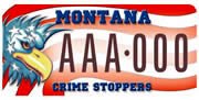 Crime Stoppers plate sample
