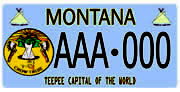 Crow Tribe Executive Branch plate sample