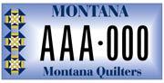 Eureka Montana Quilt Show plate sample