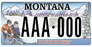 Missoula Area Youth Hockey Association plate sample