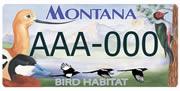 Montana Audubon sample plate