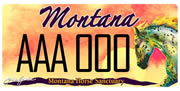 Montana Horse Sanctuary plate sample