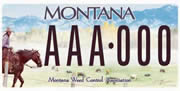 Montana Weed Control Association plate sample