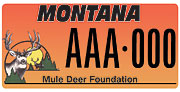 Mule Deer Foundation plate sample