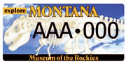 Museum of the Rockies plate sample