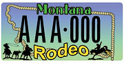 Northeast Montana Fair/Rodeo Committee plate sample