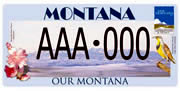 Our Montana plate sample