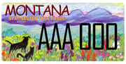 Montana Spay/Neuter Task Force plate sample
