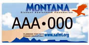 Student Assistance Foundation plate sample