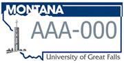 University of Great Falls plate sample