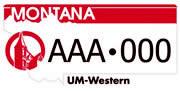UM Western plate sample