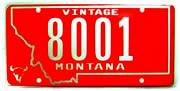 Montana Vintage plate sample