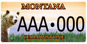 Yellowstone Park Foundation plate sample